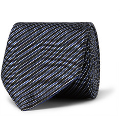 Paul Smith London Striped Silk Tie