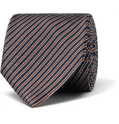 Paul Smith London Striped Silk-Twill Tie