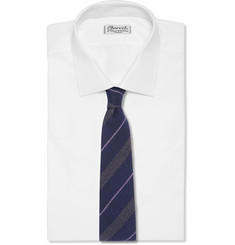 Paul Smith London Striped Wool and Silk-Blend Tie