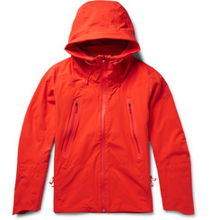Descente Hooded Waterproof Shell Jacket