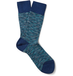 Falke Illusion Mélange Cotton-Blend Socks
