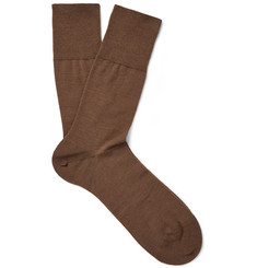Falke - Airport Merino Wool and Cotton-Blend Socks