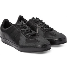 Hender Scheme MIP-05 Nubuck-Panelled Leather Sneakers