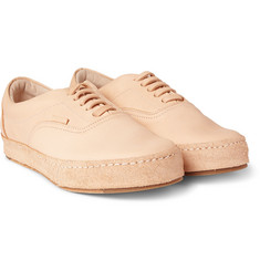 Hender Scheme - MIP-04 Leather and Distressed-Suede Sneakers