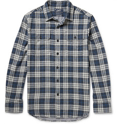 Grayers Checked Cotton-Flannel Shirt