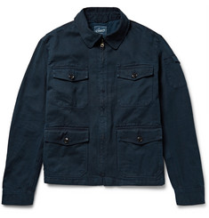 Grayers Gilbert Washed Cotton-Twill Field Jacket