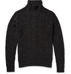 Grayers Albert Cable-Knit Cotton Rollneck Sweater