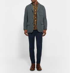 Grayers Ivy Herringbone Wool-Blend Blazer