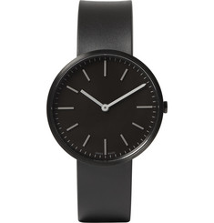 Uniform Wares - M37 PVD Black Stainless Steel and Rubber Wristwatch