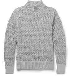 S.N.S. Herning Stark Slim-Fit Cable-Knit Virgin Wool Sweater