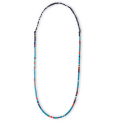 Mikia Snake Bead and Bandana Necklace
