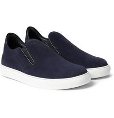 Mr. Hare - Llewelyn Suede Slip-On Sneakers