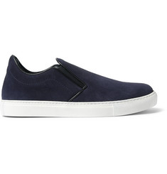 Mr. Hare Llewelyn Suede Slip-On Sneakers