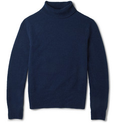 Hardy Amies Merino Wool-Blend Rollneck Sweater