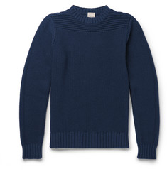 Hardy Amies Seed-Stitch Merino Wool Sweater