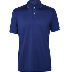 RLX Ralph Lauren Perforated Stretch-Jersey Golf Shirt