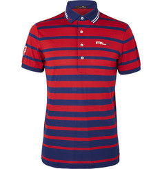 RLX Ralph Lauren - Striped Piqué Polo Shirt
