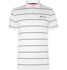 RLX Ralph Lauren Striped Stretch-Jersey Golf Shirt