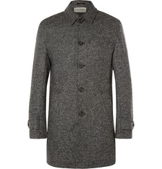 Oliver Spencer Salt and Pepper Wool Coat
