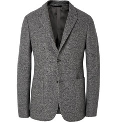 Calvin Klein Collection Grey Thompson Wool-Tweed Blazer