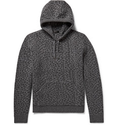 Calvin Klein Collection Jeres Wool-Jacquard Hoodie