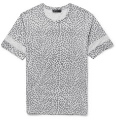 Calvin Klein Collection Jido Printed Cotton-Jersey T-Shirt