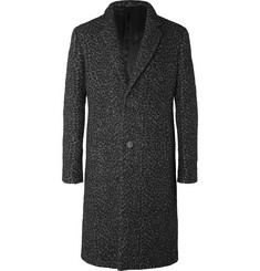 Calvin Klein Collection Jenks Cheetah-Patterned Wool-Blend Coat