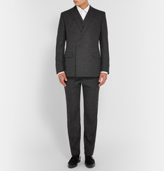 Kilgour Grey Slim-Fit Alpaca-Blend Suit