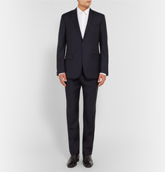 Kilgour Navy Slim-Fit Wool Suit