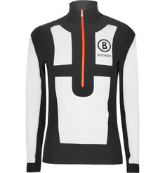 Bogner Buddy Half-Zip Panelled Mid-Layer Jersey