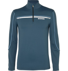 Bogner Rasmus Half-Zip Stretch-Jersey Base Layer