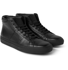 Greats The Royale High Leather High-Top Sneakers