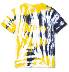 Fanmail Slim-Fit Tie-Dyed Organic Cotton-Jersey T-Shirt