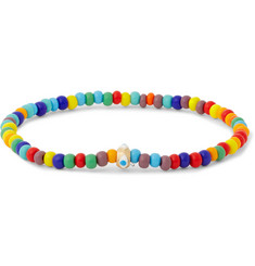 Luis Morais - Glass Bead and Gold Bracelet