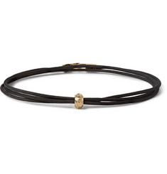Luis Morais Yellow Gold Wrap Bracelet