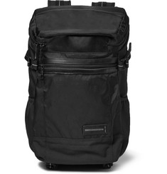 Master-Piece Exceed Canvas Leather-Trimmed Backpack