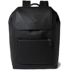 Coach Pebble-Grain Leather Backpack
