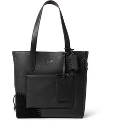Coach Rip and Repair Textured-Leather Tote