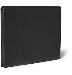 Coach Pebble-Grain Leather Portfolio