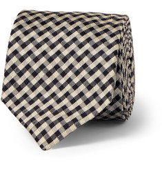 Marwood - Patterned Woven Silk Tie