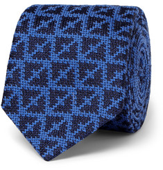 Marwood - Knitted Wool and Silk-Blend Tie