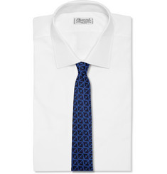 Marwood Knitted Wool and Silk-Blend Tie