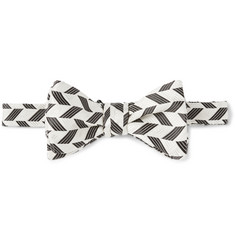 Marwood Silk-Jacquard Bow Tie