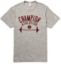 Todd Snyder + Champion Printed Cotton-Jersey T-Shirt