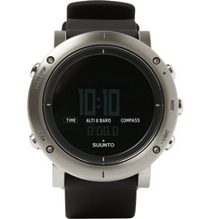 Suunto Core Brushed-Steel Digital Watch