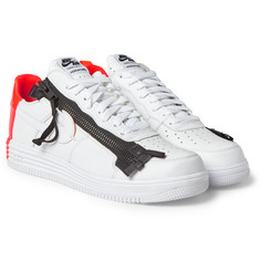 Nike + Acronym Lunar Force 1 Leather Sneakers
