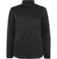 Snow Peak - Quilted Stretch-Jersey Shirt Jacket