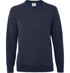 Snow Peak Wool and Cotton-Blend Sweatshirt