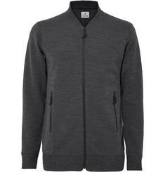 Snow Peak Zip-Up Wool-Blend Sweater