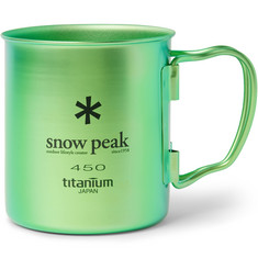 Snow Peak TI-Single Titanium Mug, 450ml